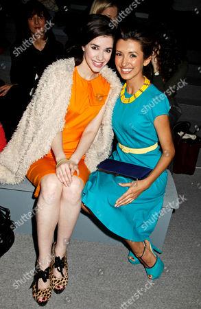 Erica Dasher and India de Beaufort