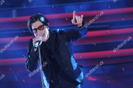 Editorial photo of 62nd Sanremo Music Festival, Sanremo, Italy - 16 Feb 2012