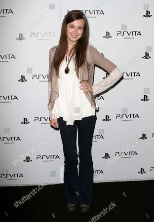 Editorial photo of Sony Playstation PS VITA Launch Party, Los Angeles, America - 15 Feb 2012
