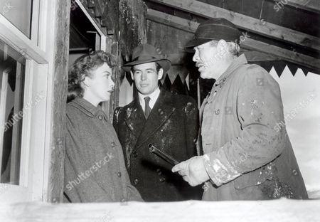 On Dangerous Ground,  Ida Lupino,  Robert Ryan,  Ward Bond