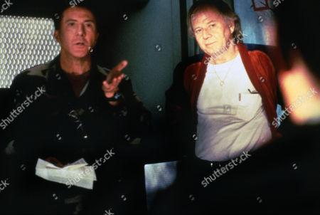 "Max McElligott Petersen (Director) on Set ""Outbreak (1995)"" with Dustin Hoffman"