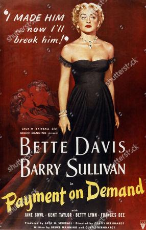 Payment On Demand,  Bette Davis