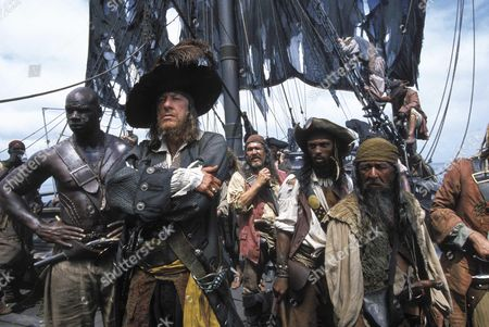 Pirates Of The Caribbean: The Curse Of The Black Pearl,  Geoffrey Rush,  Isaac C Singleton Jr