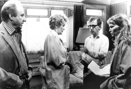 September (On Set),  Jack Warden,  Elaine Stritch
