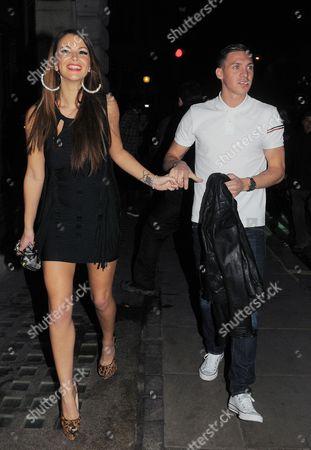 Natasha Giggs and Kirk Norcross
