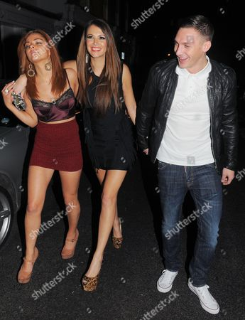 Kirk Norcross, Natasha Giggs and friend