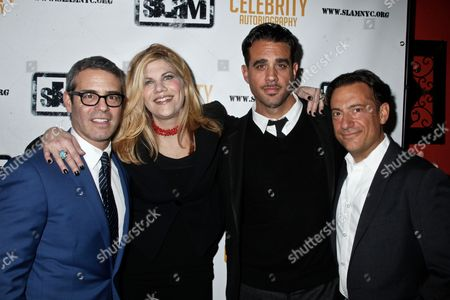 Andy Cohen, Kristen Johnston, Bobby Cannavale and Eugene Pack