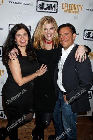 Dayle Reyfel, Kristen Johnston and Eugene Pack