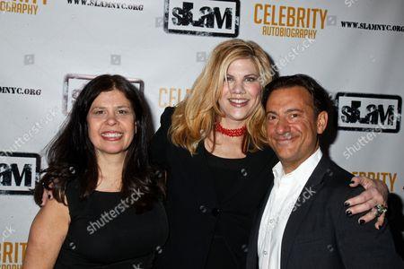 Stock Photo of Dayle Reyfel, Kristen Johnston and Eugene Pack