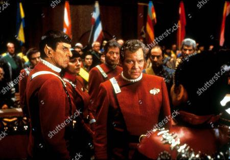 Star Trek Vi: The Undiscovered Country,  Leonard Nimoy,  Kim Cattrall,  Deforest Kelley,  William Shatner