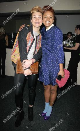 Georgie Okell and Gemma Cairney