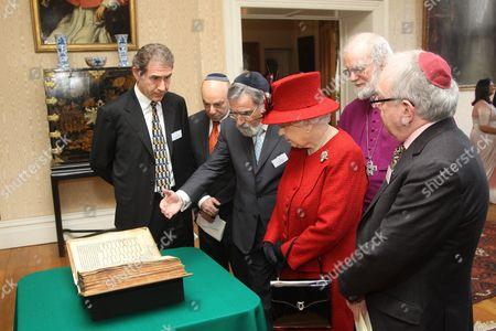 Editorial image of Multi-faith reception to commemorate Queen Elizabeth II's Diamond Jubilee, Lambeth Palace, London, Britain - 15 Feb 2012