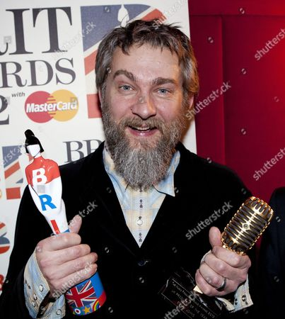 Producer of the Year Ethan Johns who was awarded his BRIT award as well as Music Producers Guild award.