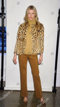 Editorial image of Adrienne Vittadini show, Fall 2012 Mercedes-Benz Fashion Week, New York, America - 16 Feb 2012