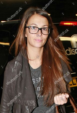 Editorial photo of Natasha Giggs out and about, London, Britain - 17 Feb 2012