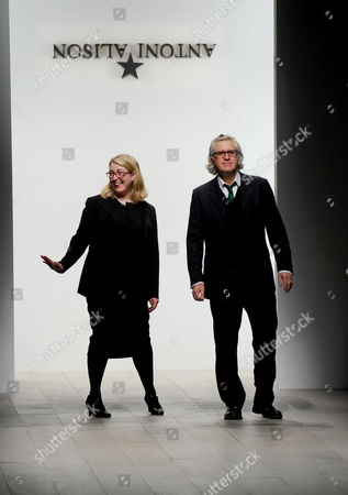 Foto editoriale Antoni and Alison show, Autumn Winter 2012, London Fashion Week, London, Britain - 17 Feb 2012