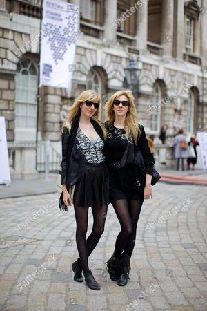 Annette Felder and Daniela Felder