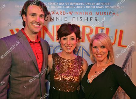 Michael Xavier, Connie Fisher and Lucy Van Gasse