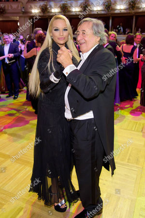 Richard Siegfried Lugner and Gina Lisa Lohfink