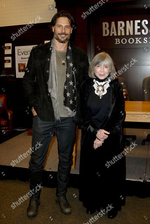 Joe Manganiello and Anne Rice