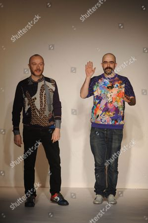Editorial image of Basso and Brooke Show, Autumn Winter 2012, London Fashion Week, London, Britain - 17 Feb 2012