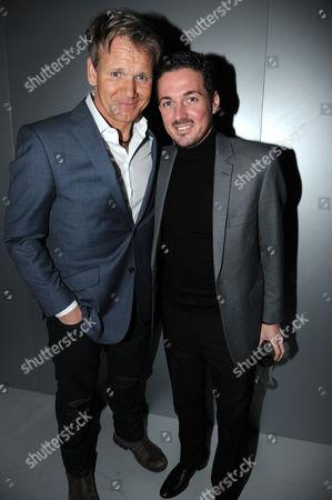 Gordon Ramsay and Dave Gardner