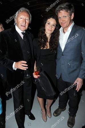 Harold Tillman, Tana Ramsay and Gordon Ramsay