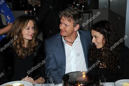 Lucy Yeomans, Gordon Ramsay and Tana Ramsay
