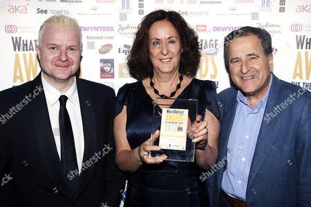 Gillian Slovo, Nicolas Kent and Tim Arthur