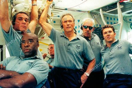 Space Cowboys,  Tommy Lee Jones,  Coutney B Vance,  James Garner,  Clint Eastwood,  Donald Sutherland,  Loren Dean