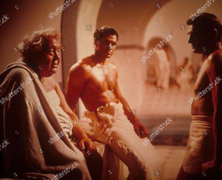 Spartacus,  Charles Laughton,  John Gavin,  Laurence Olivier