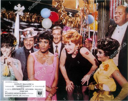 Sweet Charity,  Paula Kelly,  Shirley Maclaine,  Chita Rivera,  Stubby Kaye