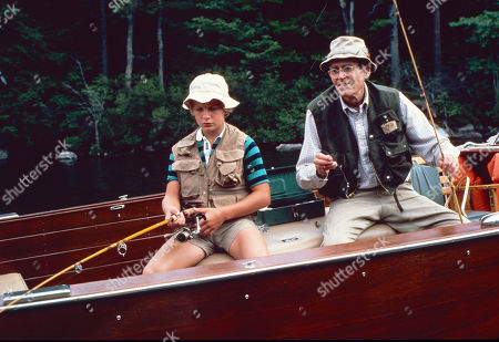 'On Golden Pond' Film - 1981 -   Doug McKeon, and Henry Fonda
