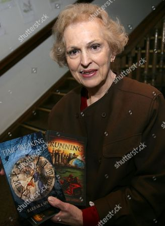 Editorial image of 'Time Breaking' Barbara Spencer book promotion, Waterstones, Oxford, Britain - 18 Feb 2012