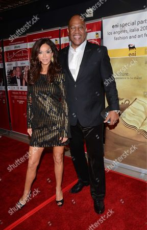 Sofia Milos and Tommy Lister