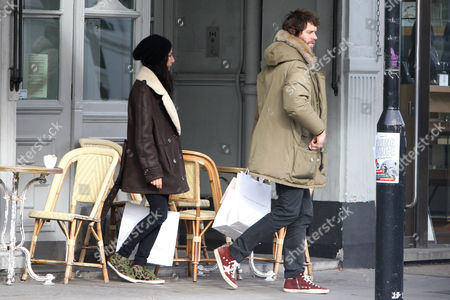 Katie Halil and Howard Donald