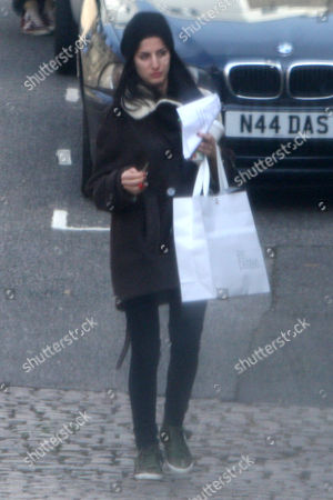 Editorial image of Howard Donald and girlfriend Katie Halil in Notting Hill, London, Britain - 20 Feb 2012