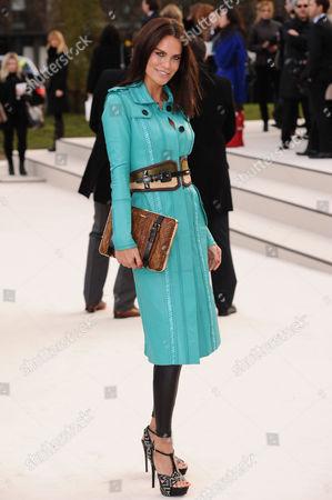 Editorial picture of Burberry Prorsum Show Autumn Winter 2012, London Fashion Week- London, Britain - 20 Feb 2012
