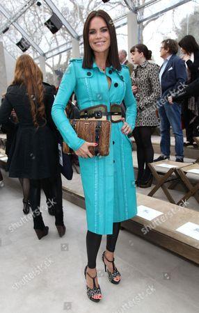 Editorial photo of Burberry Prorsum Show Autumn Winter 2012, London Fashion Week- London, Britain - 20 Feb 2012