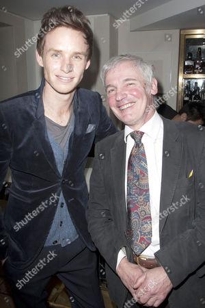 Stock Photo of Eddie Redmayne and Jeremy James Taylor
