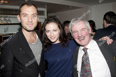 Jude Law, Lara Pulver and Jeremy James Taylor