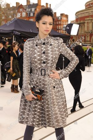 Editorial picture of Burberry Prorsum Show Autumn Winter 2012, London Fashion Week, London, Britain - 20 Feb 2012
