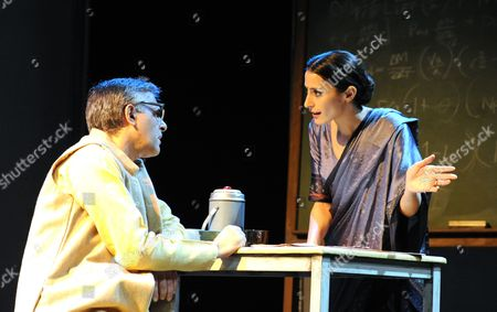 Editorial image of 'The Bomb: A Partial History' play performed at The Tricycle Theatre, London, Britain - 17 Feb 2012