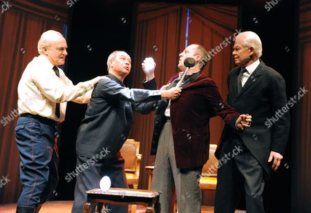 Editorial photo of 'The Bomb: A Partial History' play performed at The Tricycle Theatre, London, Britain - 17 Feb 2012