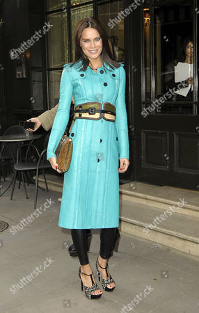 Editorial image of Celebrities out and about in London, Britain - 20 Feb 2012