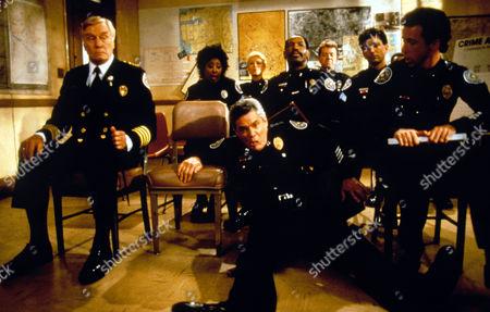 Police Academy 6: City Under Siege,  George Gaynes,  Marion Ramsey,  Leslie Easterbrook,  G W Bailey,  Bubba Smith,  David Graf,  Matt Mccoy,  Lance Kinsey