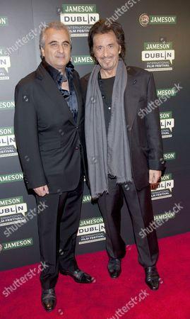 Barry Navidi and Al Pacino
