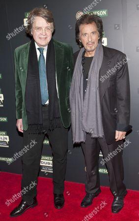 Merlin Holland (Oscar Wilde's Grandson) and Al Pacino