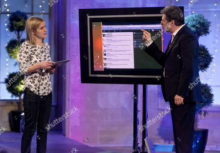 Stock Picture of Kate Bussmann and Alan Titchmarsh