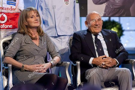 Louise Goodman and Sir Stirling Moss